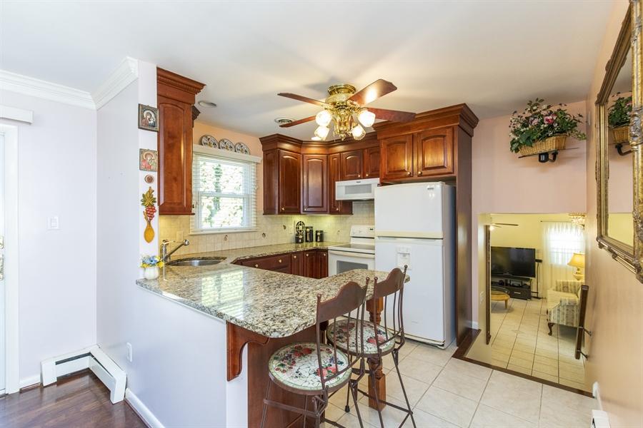 Real Estate Photography - 2100 Elder Dr, Wilmington, DE, 19808 - Breakfast counter for quick meals
