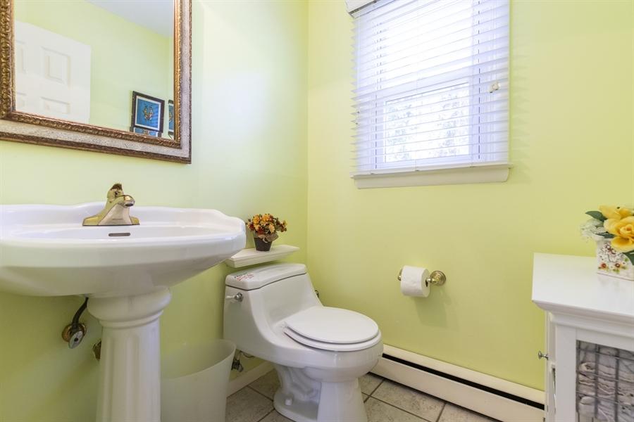 Real Estate Photography - 2100 Elder Dr, Wilmington, DE, 19808 - Convenient half bath