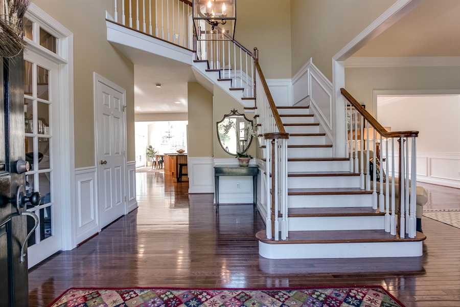 Real Estate Photography - 104 Cezanne Ct, Landenberg, PA, 19350 - Welcoming Two-Story Entrance Foyer