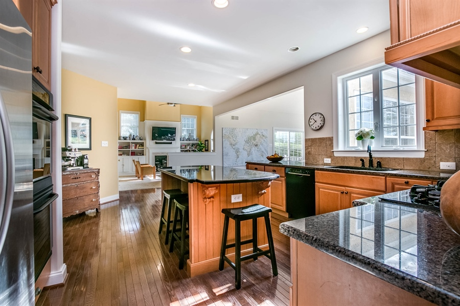 Real Estate Photography - 104 Cezanne Ct, Landenberg, PA, 19350 - Kitchen - Granite Countertops & Center Island