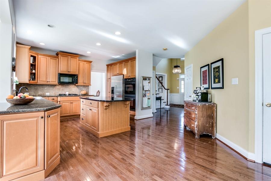 Real Estate Photography - 104 Cezanne Ct, Landenberg, PA, 19350 - Kitchen - Hardwood Flooring