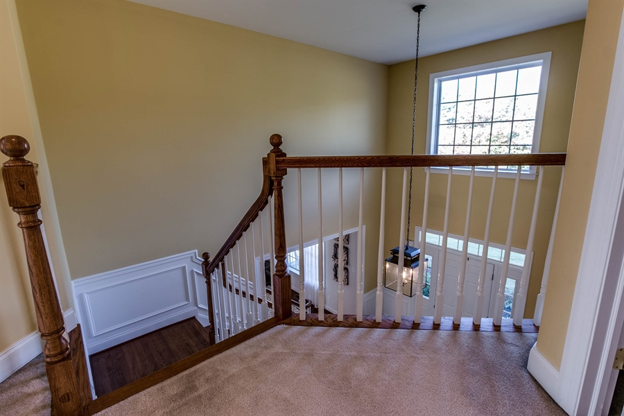 Real Estate Photography - 104 Cezanne Ct, Landenberg, PA, 19350 - Upstairs Hall - Overlook