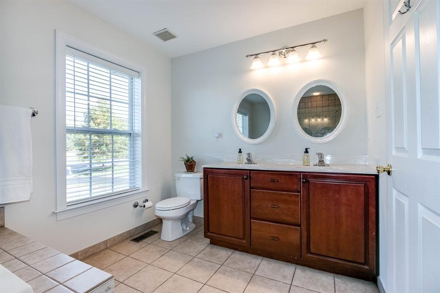 Real Estate Photography - 104 Cezanne Ct, Landenberg, PA, 19350 - Master Bath - Double Sink Vanity