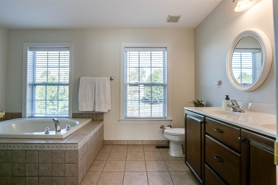 Real Estate Photography - 104 Cezanne Ct, Landenberg, PA, 19350 - Master Bath - Another View