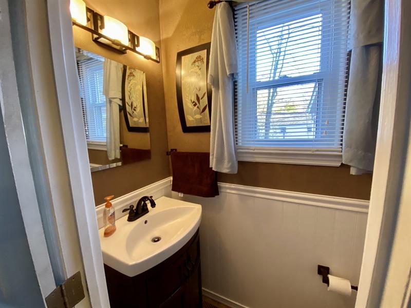 Real Estate Photography - 3312 Altamont Dr, Wilmington, DE, 19810 - First Floor Half Bath
