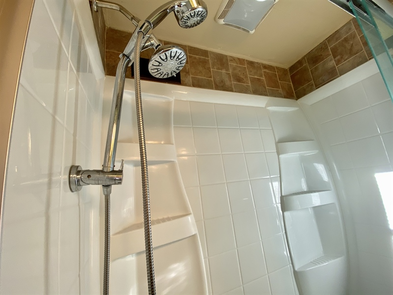 Real Estate Photography - 3312 Altamont Dr, Wilmington, DE, 19810 - Shower