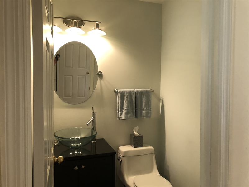 Real Estate Photography - 2 Jacqueline Dr, Hockessin, DE, 19707 - Updated powder room