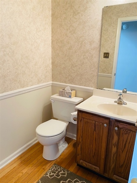 Real Estate Photography - 17 Westwoods Blvd, Hockessin, DE, 19707 - Main Level Powder Room