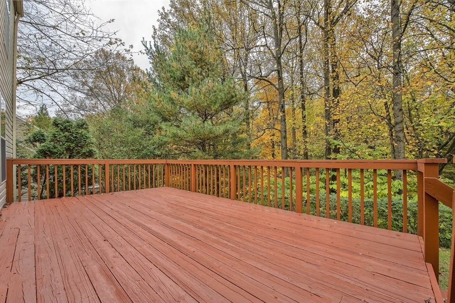 Real Estate Photography - 17 Westwoods Blvd, Hockessin, DE, 19707 - Large Deck Perfect for Entertaining Guests