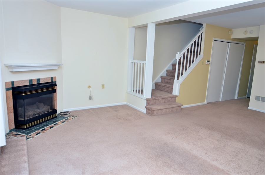 Real Estate Photography - 1508 N Lincoln St, Wilmington, DE, 19806 - Propare Fireplace in Family Room