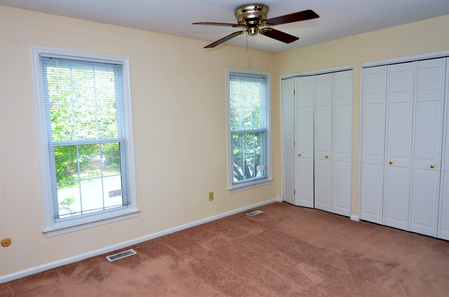 Real Estate Photography - 1508 N Lincoln St, Wilmington, DE, 19806 - Master Bedroom with Double Closets