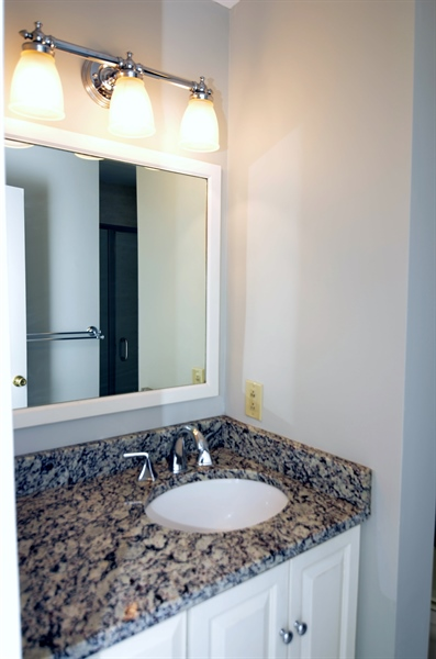 Real Estate Photography - 1508 N Lincoln St, Wilmington, DE, 19806 - In-Suite Master Bath With Granite Counter