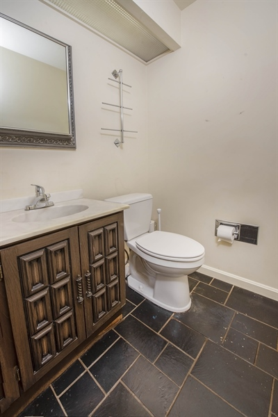 Real Estate Photography - 623 Shipley Rd, Wilmington, DE, 19809 - Main Level Powder Room