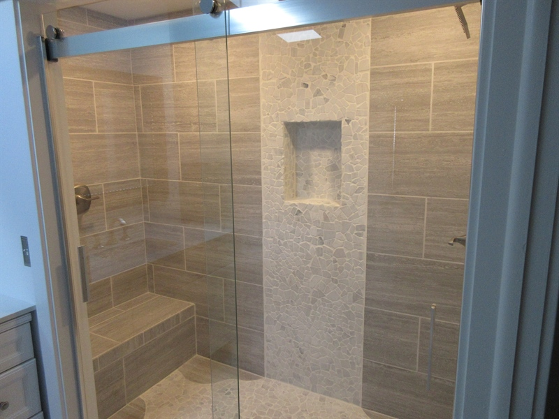 Real Estate Photography - 26764 Otter Way, Long Neck, DE, 19966 - Master shower