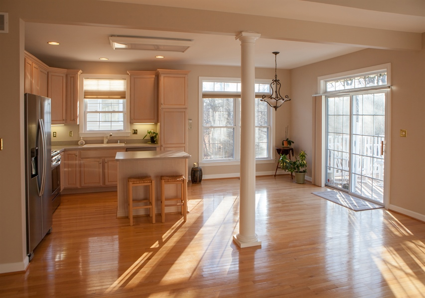 Real Estate Photography - 230 Niagara Falls Dr, Wilmington, DE, 19808 - Dining Area and Kitchen