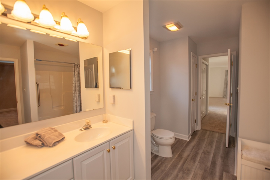 Real Estate Photography - 230 Niagara Falls Dr, Wilmington, DE, 19808 - From the bathroom vanity area towards the Dressing
