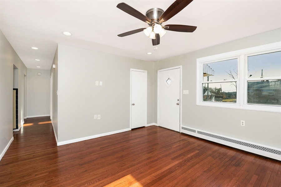 Real Estate Photography - 303 Valley Rd, Wilmington, DE, 19804 - Refinished Hardwood, Fresh Paint Throughout