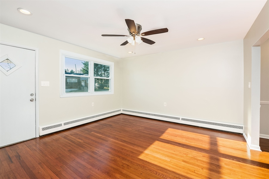 Real Estate Photography - 303 Valley Rd, Wilmington, DE, 19804 - Living Room has Tons of Natural Light