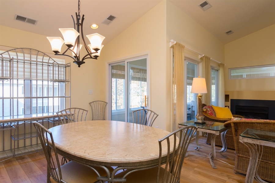 Real Estate Photography - 16 Beech Ln, Lewes, DE, 19958 - Dining Area