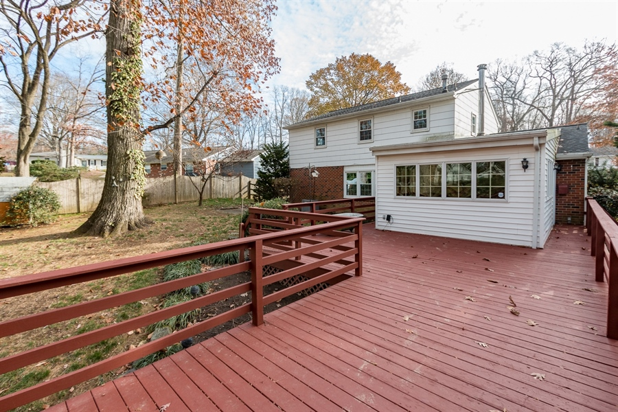 Real Estate Photography - 6 Saint Regis Dr, Newark, DE, 19711 - A View Of The Back Of The House
