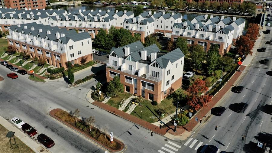 Real Estate Photography - 221 Christina Landing Dr, Wilmington, DE, 19801 - Ariel View