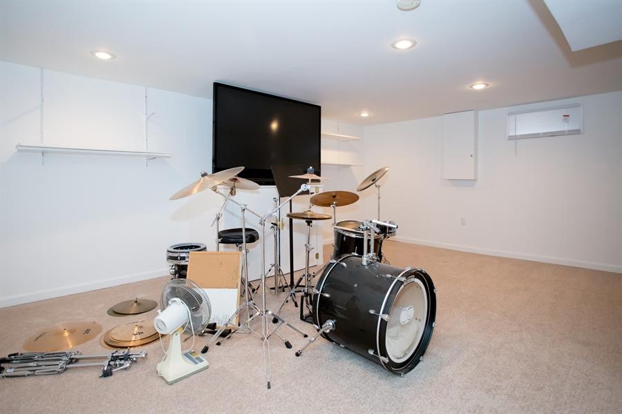 Real Estate Photography - 42 Dawes Dr, Newark, DE, 19702 - Lower level music room, etc.