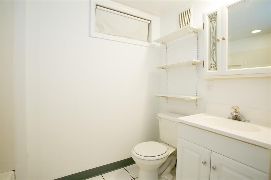 Real Estate Photography - 42 Dawes Dr, Newark, DE, 19702 - Lower level bathroom