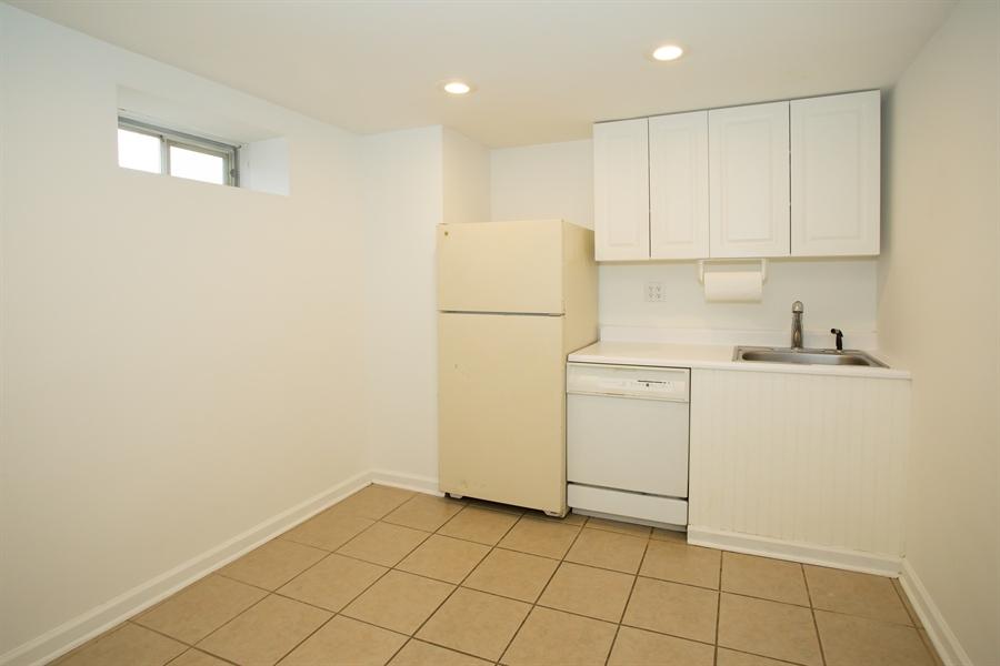 Real Estate Photography - 42 Dawes Dr, Newark, DE, 19702 - Lower level kitchenette