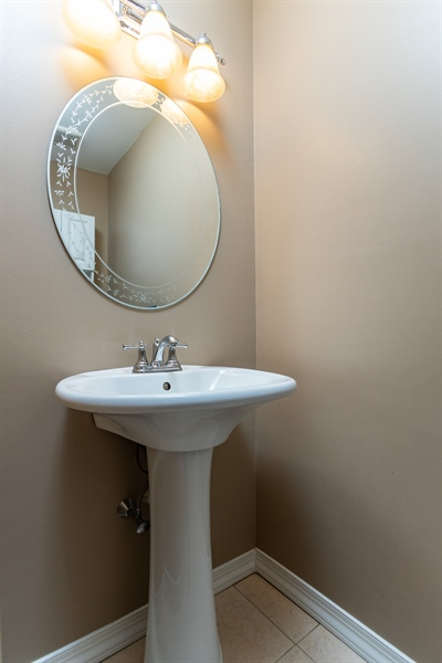 Real Estate Photography - 5032 E Woodmill Dr, Wilmington, DE, 19808 - Main Level Powder Room