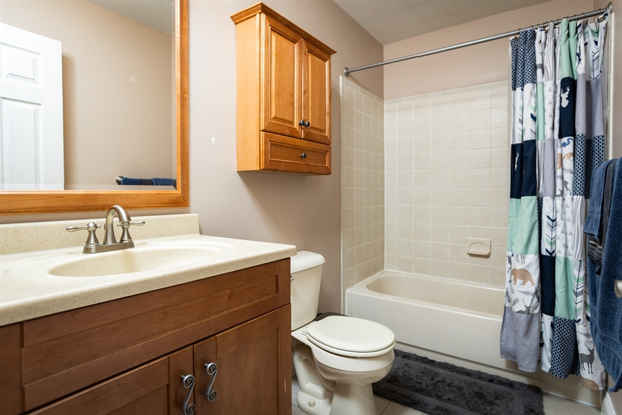 Real Estate Photography - 5032 E Woodmill Dr, Wilmington, DE, 19808 - 2nd Level Full Bath