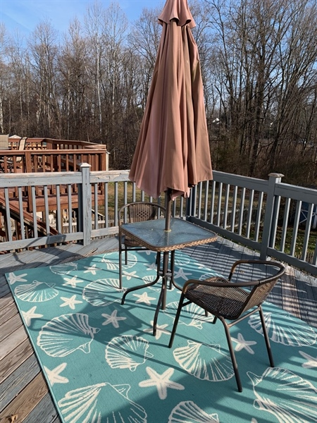 Real Estate Photography - 5032 E Woodmill Dr, Wilmington, DE, 19808 - Deck Overlooking Backyard