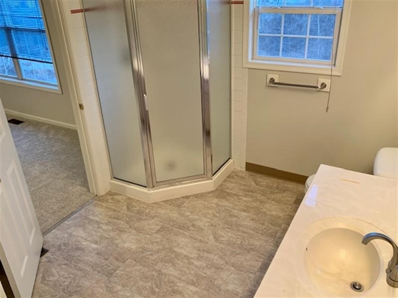 Real Estate Photography - 2208 Braken Ave, Wilmington, DE, 19808 - Another View of Master Bathroom