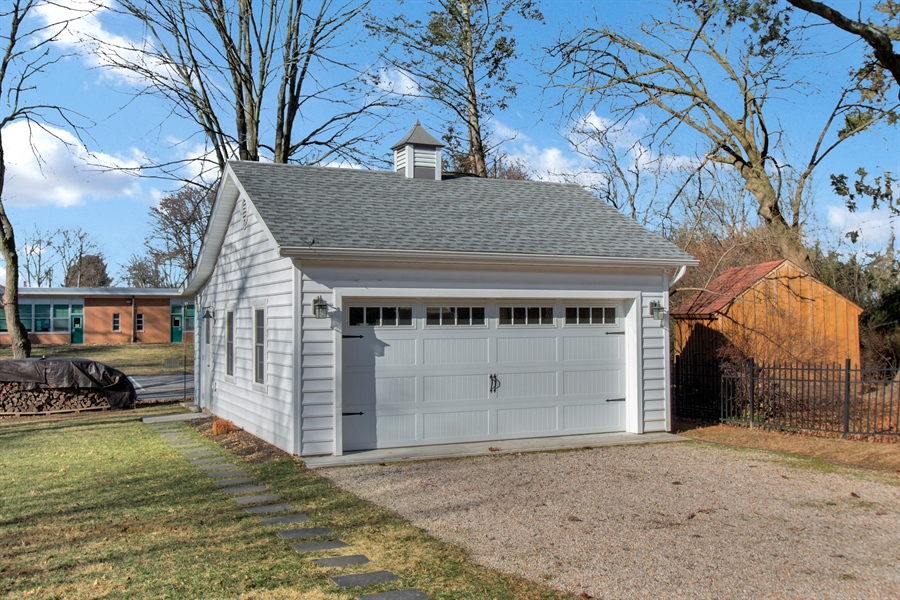 Real Estate Photography - 310 Apple Rd, Newark, DE, 19711 - New Oversized Two Car Garage