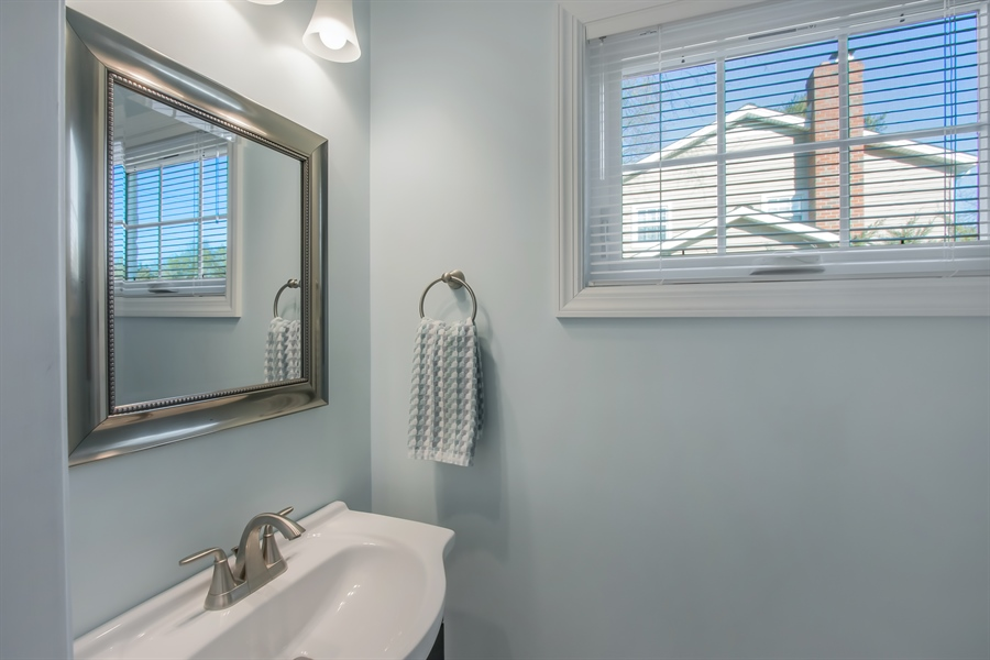 Real Estate Photography - 310 Apple Rd, Newark, DE, 19711 - Powder Room