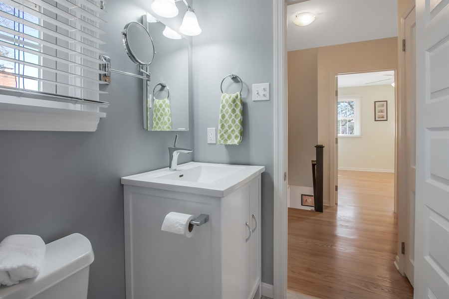 Real Estate Photography - 310 Apple Rd, Newark, DE, 19711 - Main Bath