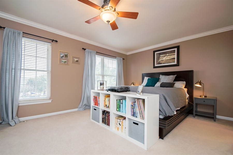 Real Estate Photography - 303 Benham Ct, Newark, DE, 19711 - Owners Bedroom with Large Windows
