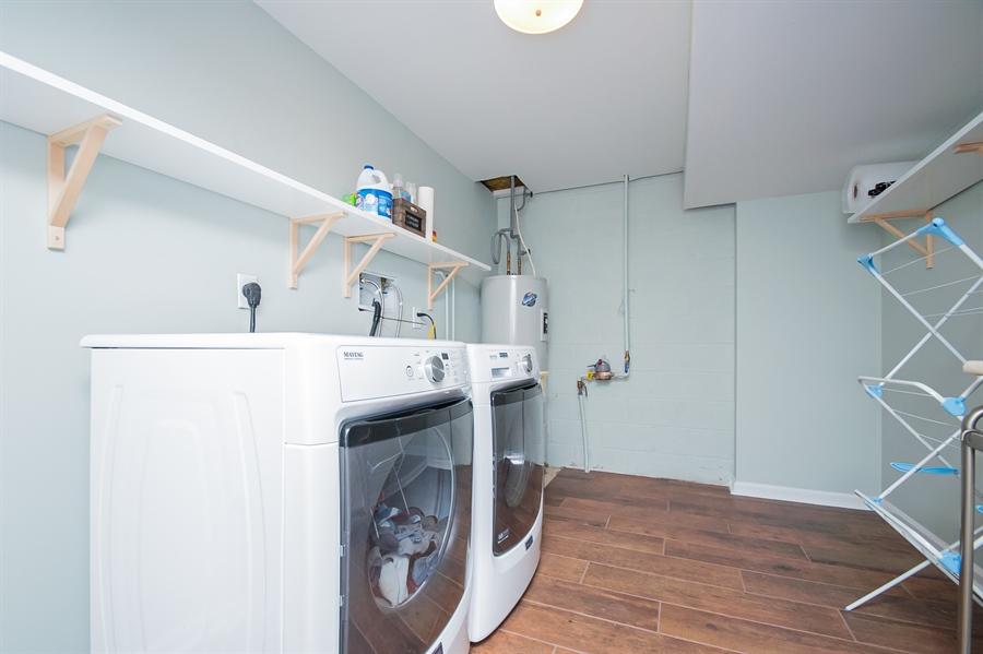 Real Estate Photography - 303 Benham Ct, Newark, DE, 19711 - Updated Laundry Room