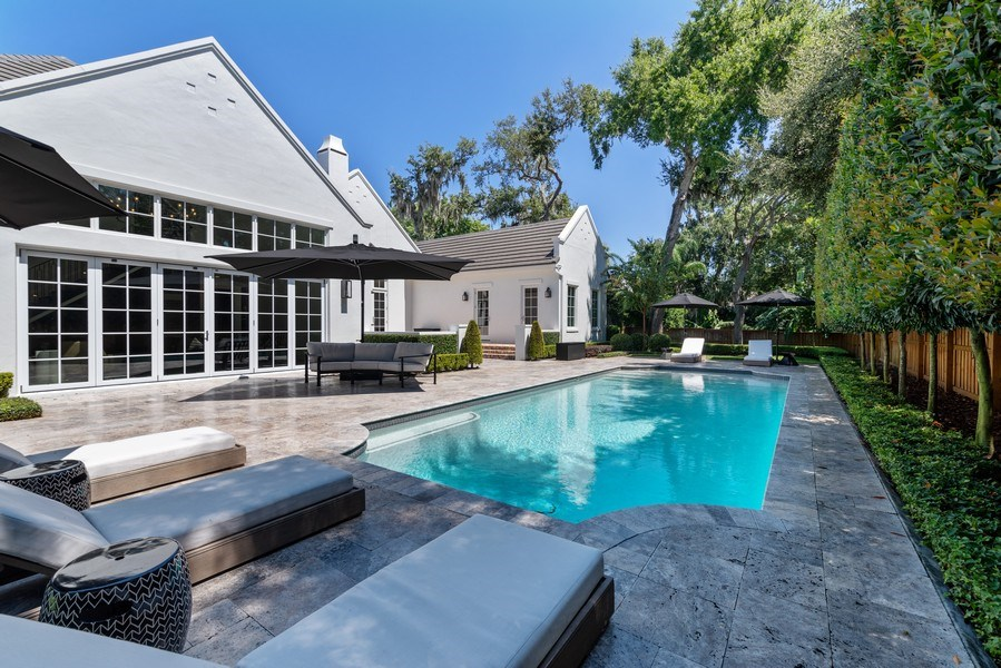 Real Estate Photography - 880 Bonita Drive, Winter Park, FL, 32789 - Backyard
