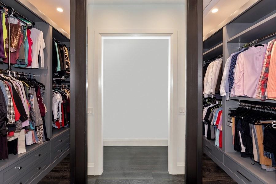 Real Estate Photography - 880 Bonita Drive, Winter Park, FL, 32789 - Master Closet