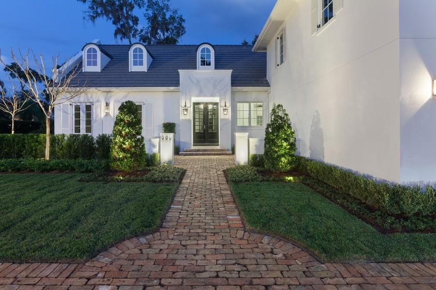 Real Estate Photography - 880 Bonita Drive, Winter Park, FL, 32789 - Front Entry