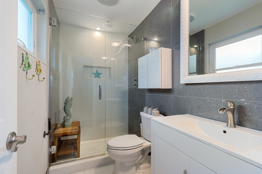 Real Estate Photography - 241 SW 16th St, Pompano, FL, 33060 - Master Bathroom