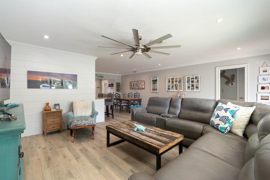 Real Estate Photography - 241 SW 16th St, Pompano, FL, 33060 - Living Room / Dining Room
