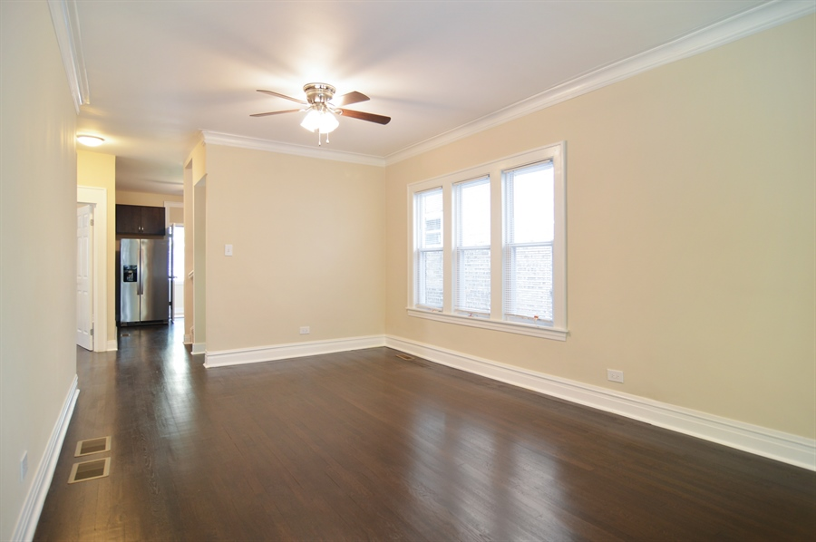 Real Estate Photography - 1637 N. Monitor Ave, Chicago, IL, 60639 - Dining Room