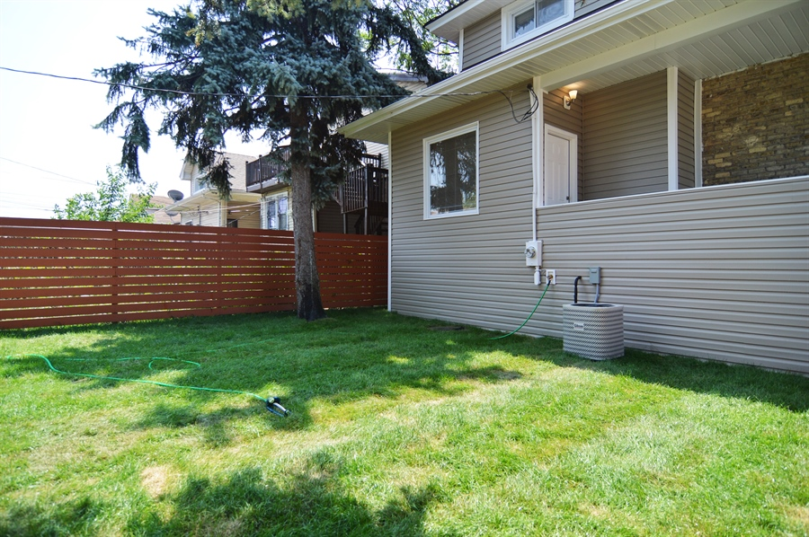 Real Estate Photography - 1637 N. Monitor Ave, Chicago, IL, 60639 - Back Yard