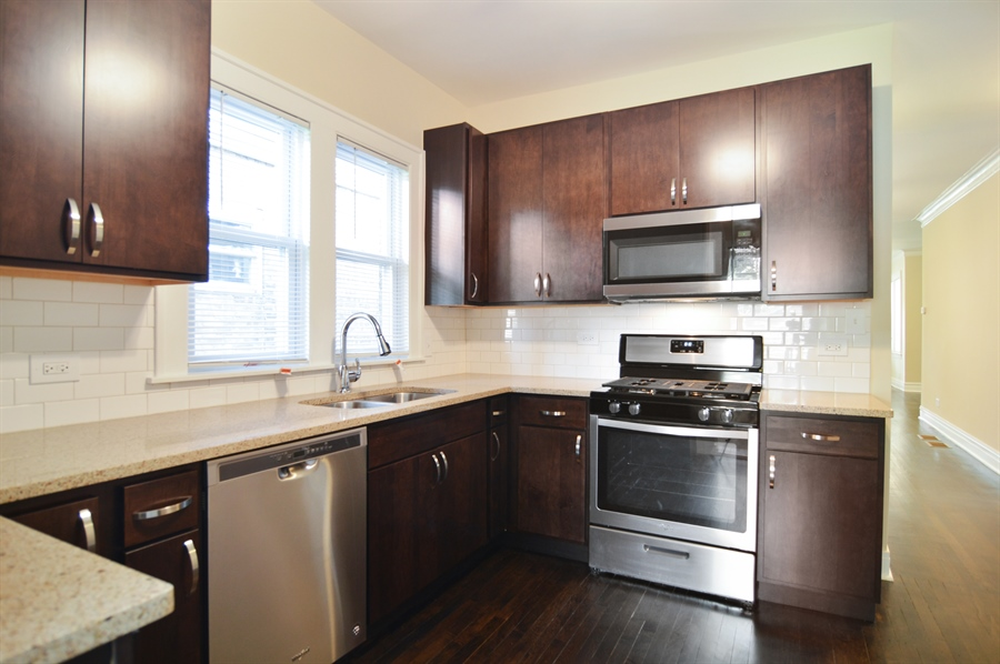Real Estate Photography - 1637 N. Monitor Ave, Chicago, IL, 60639 - Kitchen