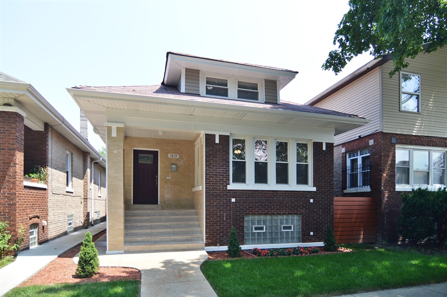 Real Estate Photography - 1637 N. Monitor Ave, Chicago, IL, 60639 - Front View