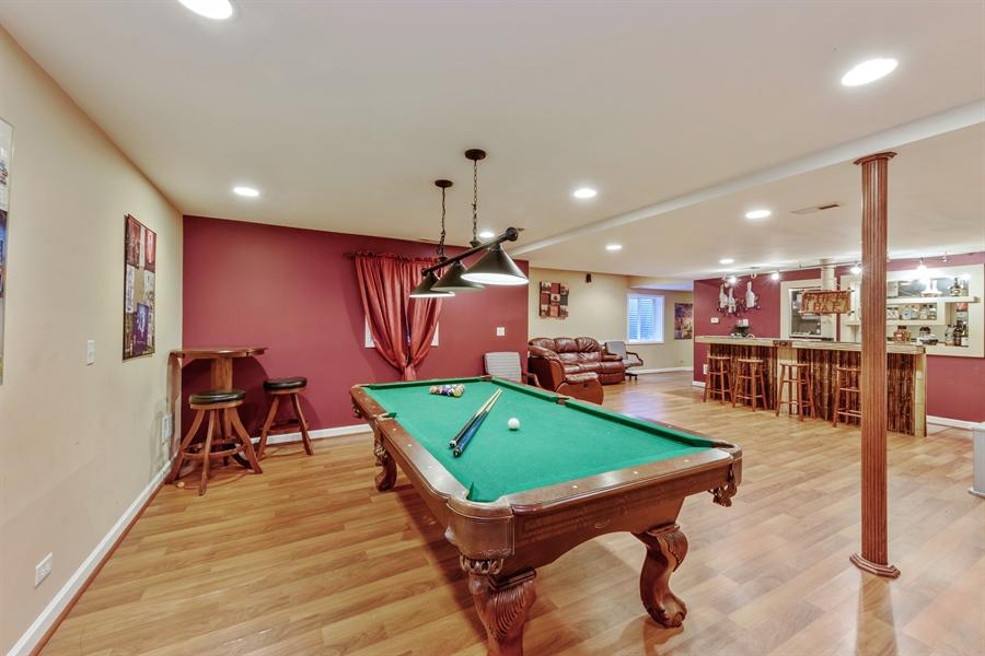 Real Estate Photography - 1100 Old Barn Rd, Buffalo Grove, IL, 60089 - Basement