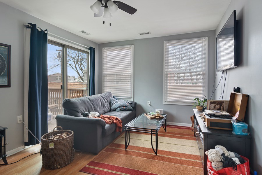 Real Estate Photography - 3633 N Elston Ave, Chicago, IL, 60618 - Living Room - 2R