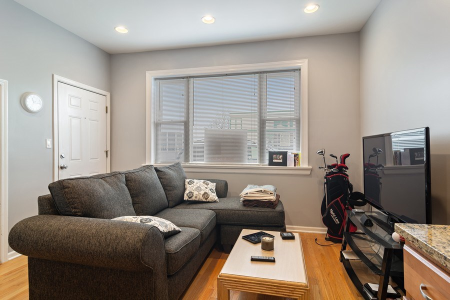 Real Estate Photography - 3633 N Elston Ave, Chicago, IL, 60618 - Living Room - 1F
