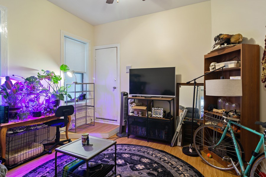 Real Estate Photography - 3633 N Elston Ave, Chicago, IL, 60618 - Living Room - 1R